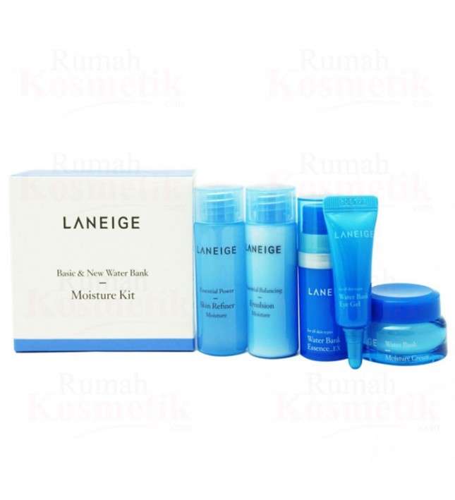 Laneige Basic & New Water Bank Moisture Kit