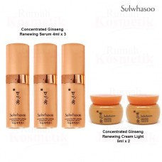 Sulwhasoo Concentrated Ginseng Renewing Trial Kit 5 items